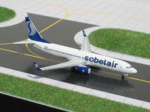 Sobelair (Belgium) B737-800 Gemini Diecast Display Model