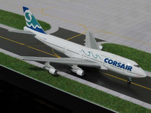 Corsair (France) B747-300 Gemini Diecast Display Model