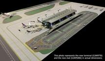 Airport Terminal Gemini Diecast Display Model