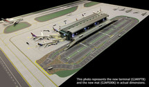 Air-Side/Land-Side Airport Terminal Gemini Diecast Display Model