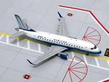 United Express ERJ-170 Gemini Diecast Display Model