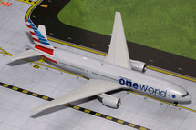 American Airlines B777-200, N796AN Gemini Diecast Display Model