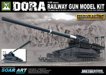 Dora Railway Gun - WWII German (Model Kit)