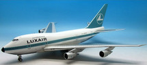Luxair Boeing 747SP LX-LGX Polished with stand