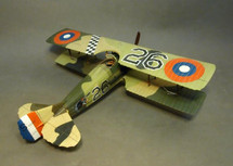 SPAD XIII, S15202, 27th Aero Squadron, September 1918