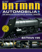 Batmobile Die Cast Model Batman #95 Bat Train