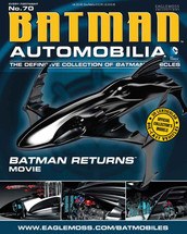 Batmobile Die Cast Model Batman Returns Movie Sub