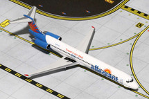 Allegiant Air MD-83, N865GA Gemini Diecast Display Model