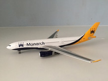 Monarch Airlines A330-200 G-SMAN With Stand