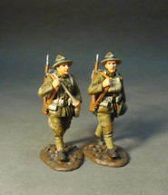 Two U.S. Marines Corps. Marching (set 2), The American Expeditionary Forces