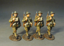 Four U.S. Marines Corps. Marching Set #2, The American Expeditionary Forces