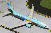 Alaska Airlines 737-800, N560AS Gemini Diecast Display Model