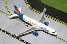 Allegiant Air A320-200, N221NV Gemini Diecast Display Model