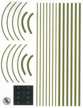 1:400 Scale Graphic Decal Sheet Gemini Models
