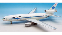 Pan Am DC 10-10 Clipper Star Light N69NA Polished With Stand