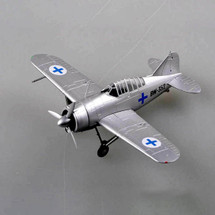 F2A Buffalo Display Model Finnish Air Force