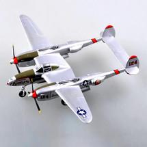 P-38L Lightning Display Model USAAF 475th FG, 431st FS, Miss Bowlegs II/Pecky II, Jack Olson, Clark Field, Luzon, 1945