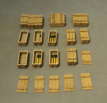 Artillery Accessories, The Royal Garrison Artillery, WWI - Eighteen pieces