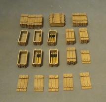 Artillery Accessories, The Royal Garrison Artillery, WWI - Eighteen pieces
