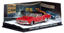 Mercury Cougar On Her Majesty`s Secret Service (1969) - James Bond Eaglemoss Collections