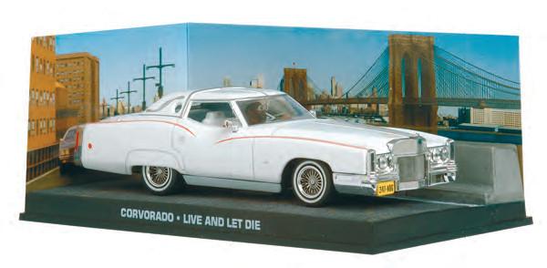 CORVORADO 1:43 LIVE AND LET DIE JAMES BOND 007 CAR