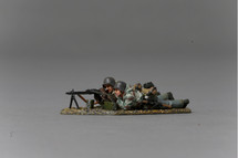MG42 with Crew (Late War) Figures