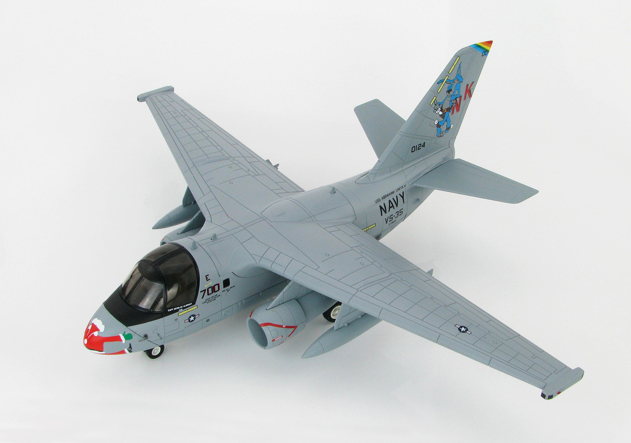 Hobby Master 1//72 S-3A Viking VS-35 Blue Wolves Navy 1 NK700 USS Lincoln HA4905