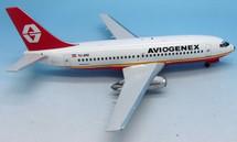 Aviogenex Boeing 737-200 YU-ANU With Stand
