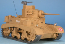"M3 Stuart 7th Armoured Division ""Desert Rats,"" British Army, Tobruk, Libya, 1941"