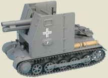 Sturmpanzer I Bison Company 702, 1st Panzer Division, German Army, France, 1940
