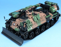 AMX-30D Armored Recovery Vehicle French Army, NATO Camouflage