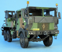 Renault TRM 10000 Heavy Cargo Truck French Army, NATO Camouflage