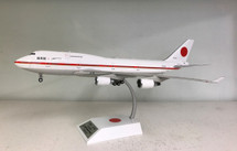 Boeing 747-400 Japan Air Self-Defense Force w/ Stand and coin