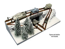 Eastern Front Winter Polystone and Resin Diorama