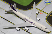 Saudia Cargo B747-8F HZ-AIH Gemini Diecast Display Model