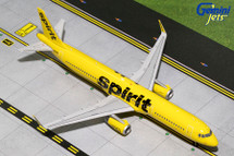 Spirit A321-200(S) (Yellow Livery, Sharklets) N668NK Gemini Diecast Display Model