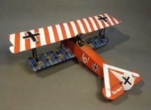 Fokker DVII, Jasta 4, Beugneux, June 1918, Ltn. Ernst Udet, Red & White