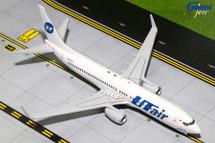UTAir B737-800(W) VQ-BJJ Gemini Diecast Display Model