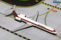 Continental MD-80 (Red Meatball Livery) N980IF Gemini Diecast Display Model