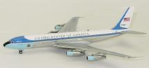 Air Force One VC-137 USAF 27000 w/ black stand Polished