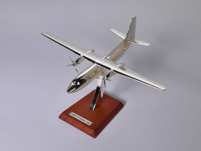 ATLAS EDITIONS SILVER CLASSICS 1:200 Fokker F-27 06