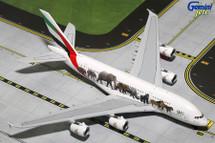 Emirates A380-800 Wildlife A6-EEQ Gemini Diecast Display Model