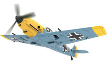 Bf 109E 1.(J)/LG 2, White 14, Hans-Joachim Marseille, Calais-Marck Airfield, France, Battle of Britain, September 1940
