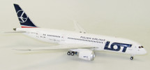 LOT Boeing 787-8 Dreamliner SP-LRD With Stand LTD 100 MODELS
