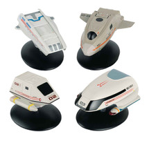 Star Trek Shuttlecraft 4-Pack: #2 Executive Shuttle (SD-103), Shuttlecraft Type-7, Type 15 Shuttle, Shuttlecraft Pod 1