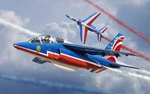 Alfa Jet Patrouille de France 2017 (Model Kit)
