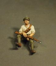 Australian 1st Light Car Patrol 1917, Ford Model T, Silent Sue Crew Riding Shotgun (1pc)
