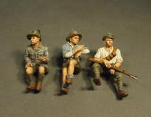 Australian 1st Light Car Patrol 1917, Ford Model T, Silent Sue 3 x Crew (3 pc)