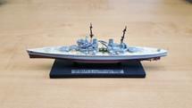 British Royal Navy battleship HMS King George V