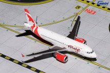 Air Canada Rouge A319 C-GBHK Gemini Diecast Display Model